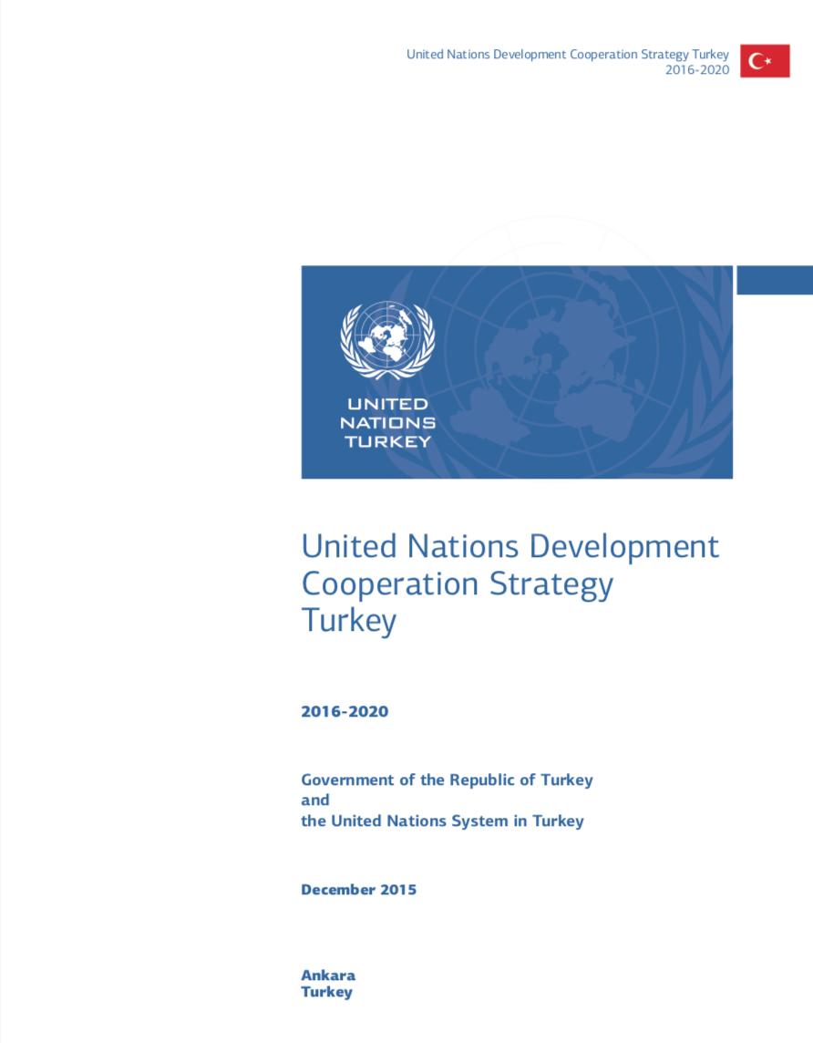 United Nations Development Cooperation Strategy Turkey