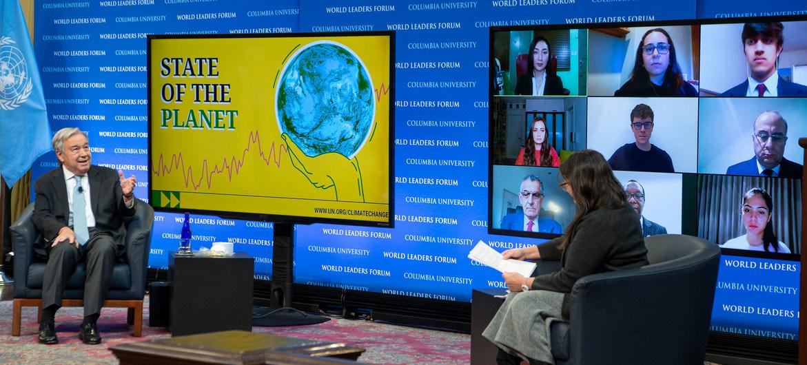BM Genel Sekreteri uyarıyor: Artık doğa ile barışma zamanı geldi