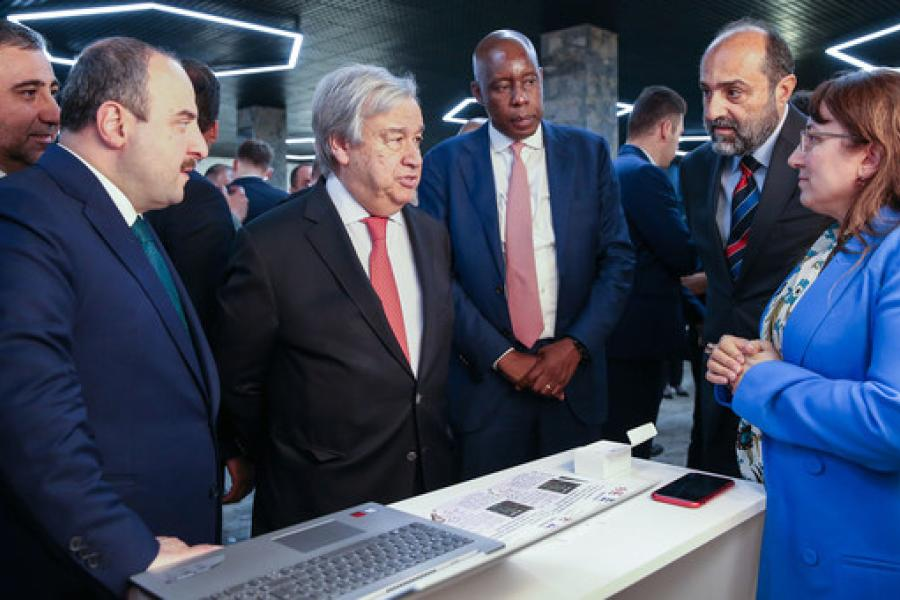Secretary-General visited Technology Bank in Turkey