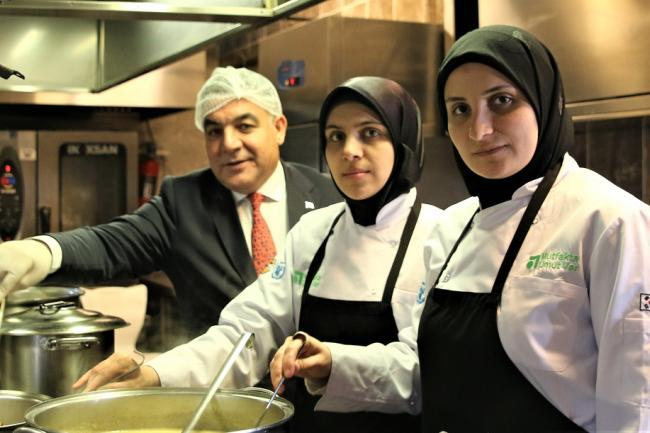 Kitchen of Hope Project of WFP in Turkey