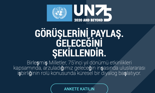 UN75 Turkish have your say